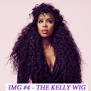 CELEBRITY INSPIRED WIGS- KELLY R.